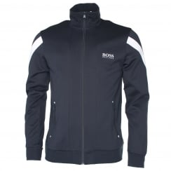 BOSS Black Zip Through Hoodie
