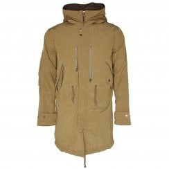 Pretty Green Zip Up Hooded Parka